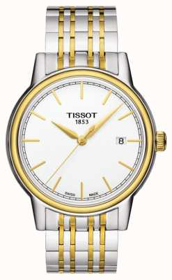 Tissot Carson heren quartz two tone Swiss datum gemaakt T0854102201100