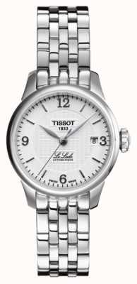 Tissot Womens le locle automatische roestvrijstalen armband T41118334