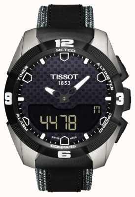 Tissot Menselijk t-touch-expert solar titanium twin-sensor leer T0914204605101