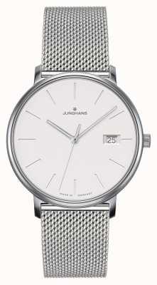 Junghans Vorm damen stalen mesh band horloge 047/4851.44