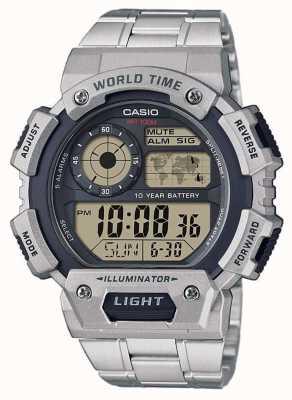 Casio Wereldtijdalarm chronograaf AE-1400WHD-1AVEF