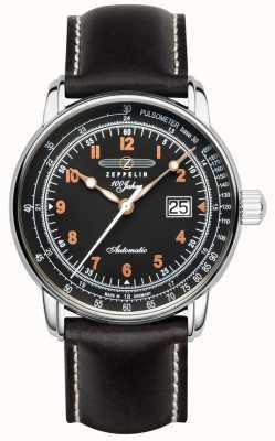 Zeppelin 100 jaar automatische weergave van de pulsometer datum 7654-5