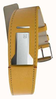 Klokers Klink 01 newport gele riem slechts 22 mm breed 230 mm lang KLINK-01-MC7.1