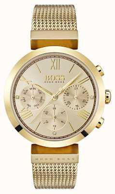 Hugo Boss Dames multifucntion klassieke sport gouden dag en datum weergave 1502425