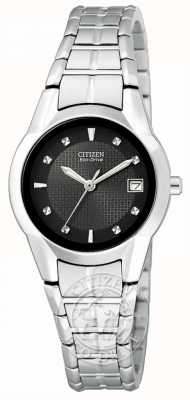 Citizen Eco-drive silhouet van roestvrij staal voor dames EW1410-50E