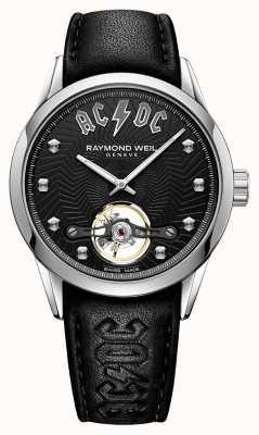 Raymond Weil Freelancer acdc limited edition zwarte wijzerplaat 2780-STC-ACDC1
