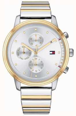 Tommy Hilfiger Blake chronograaf heren tweekleurige roestvrij stalen armband 1781908