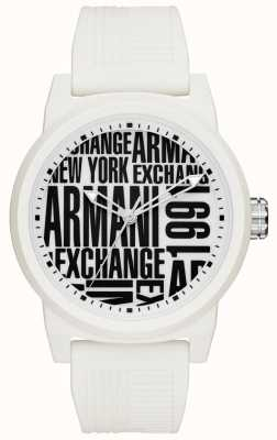 Armani Exchange Heren atlc siliconen band AX1442