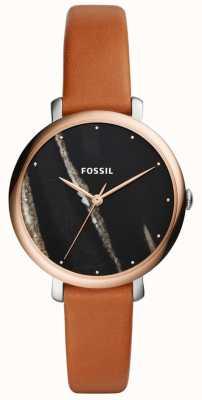 Fossil Leren riem van jacqueline leer ES4378