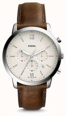 Fossil Mens neutra chrono lederen band FS5380