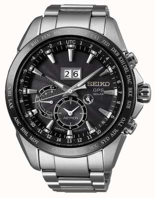 Seiko Astron staal datum display gps solar SSE149J1
