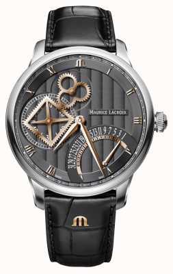 Maurice Lacroix Masterpiece square wheel retrograde automatisch horloge MP6058-SS001-310-1