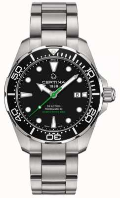Certina DS Action Diver 43mm Powermatic 80 voor heren C0324071105102