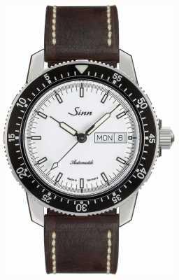 Sinn 104 st sa iw classic pilot horloge bruin vintage leer 104.012 BROWN VINTAGE LEATHER