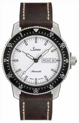 Sinn 104 st sa iw classic pilot horloge bruin vintage leer 104.012-BL50202002007125401A