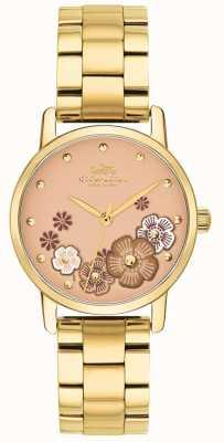 Coach Grote goud geplateerde armband voor dames 14503056