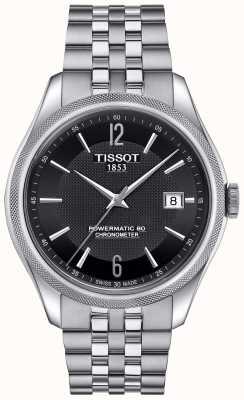 Tissot Mens ballade powermatic 80 roestvrijstalen armband T1084081105700