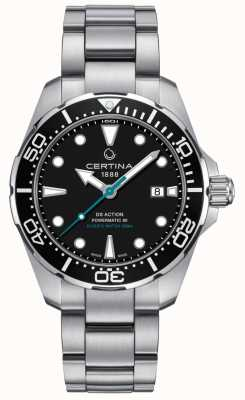 Certina Heren ds action divers powermatic 80 sea turtle conservancy C0324071105110