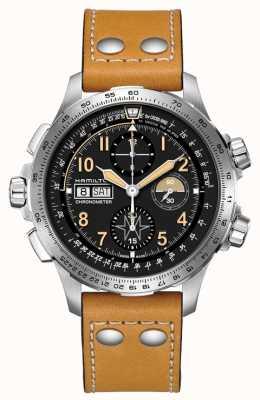 Hamilton Gelimiteerde editie khaki aviation x-wind auto chronograph H77796535