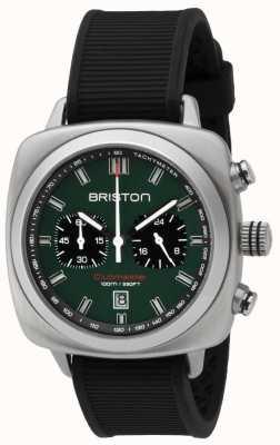 Briston Clubmaster sport britsgroen matzwarte band 16142.S.SP.16.RB
