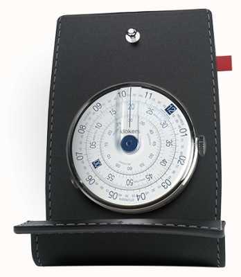 Klokers Klok 01 blauw horloge hoofdbureau & zak KLOK-01-D4.1+KPART-01-C2