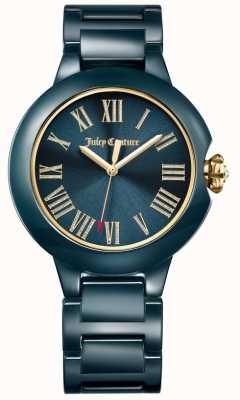 Juicy Couture Zwart burumb ceramisch horloge dames 1901653