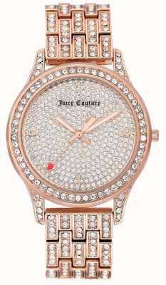 Juicy Couture Dameshorloge in rose gouden toon JC-1044PVRG