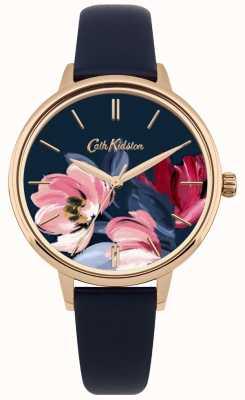 Cath Kidston Horloges dameshorloge dameshorloge marine CKL050URG