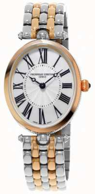 Frederique Constant Dames art deco two tone roestvrij stalen armband FC-200MPW2V2B