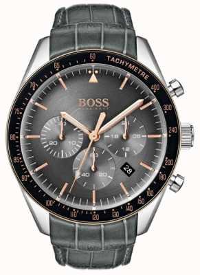 Hugo Boss Trofee grijze wijzerplaat heren 1513628