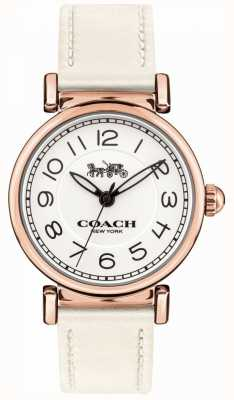 Coach Dames madison crème riem 14502862