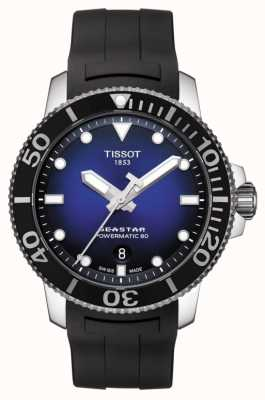 Tissot Seastar 1000 heren powermatic 80 automatisch zwart rubber T1204071704100