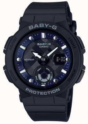 Casio Baby-g zwarte band strandreiziger BGA-250-1AER