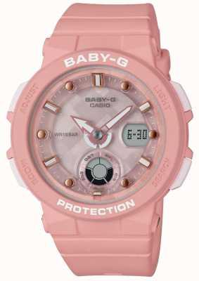 Casio Baby-g roze riem strandreiziger BGA-250-4AER