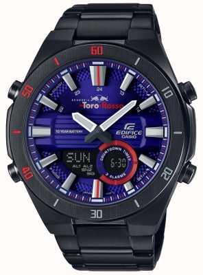 Casio Edifice toro rosso black ip vergulde dag datum ERA-110TR-2AER