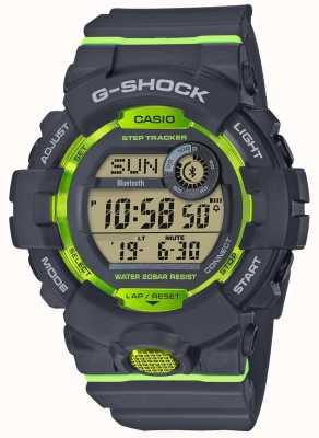Casio G-squad grijsgrijs digitale bluetooth step-tracker GBD-800-8ER