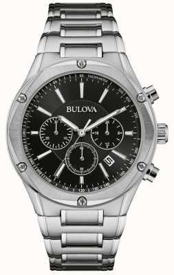 Bulova Heren chronograaf roestvrij stalen horloge 96B247