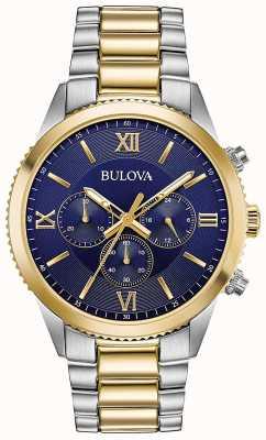 Bulova Dames chronograaf horloge | roestvrij stalen band | 98A220