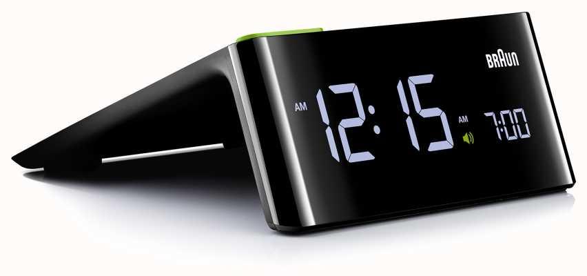 Braun Digitale wekker voor het nachtkastje | LCD scherm BNC016BKUK
