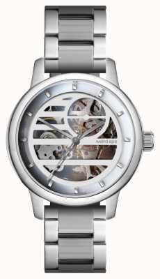 Weird Ape Rosalind witte zilveren / zilveren armband WA02-005833