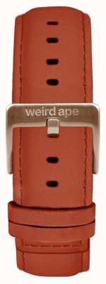 Weird Ape Roest suede 20mm band alleen rosé gouden gesp ST01-000094