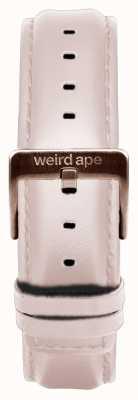 Weird Ape Nude lederen 16mm band rosé gouden gesp ST01-000034