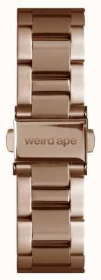 Weird Ape Rosé gouden schakel 16mm armband ST01-000043