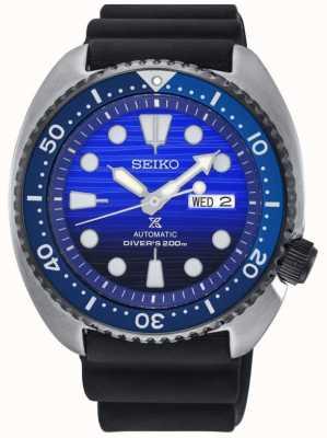 Seiko Mens redt de oceaan speciale editie rubberen band prospex SRPC91K1