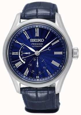 Seiko Presage limited edition shippo enamel heren automatisch blauw SPB073J1