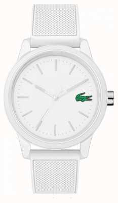 Lacoste 12.12 wit rubberen horloge 2010984