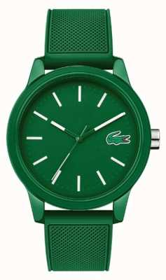 Lacoste 12.12 groene siliconen band 2010985