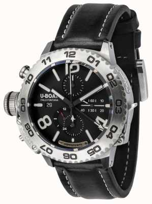U-Boat Classico doppiotempo 46 chronograaf roestvrij staal 9016