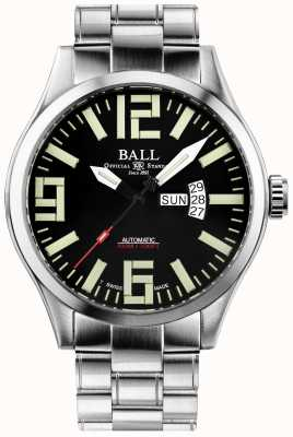 Ball Watch Company Engineer master ii aviator automatische dag- en datumweergave NM1080C-S14A-BK