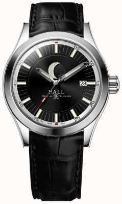Ball Watch Company Engineer ii maanfase datumweergave zwarte wijzerplaat NM2282C-LLJ-BK